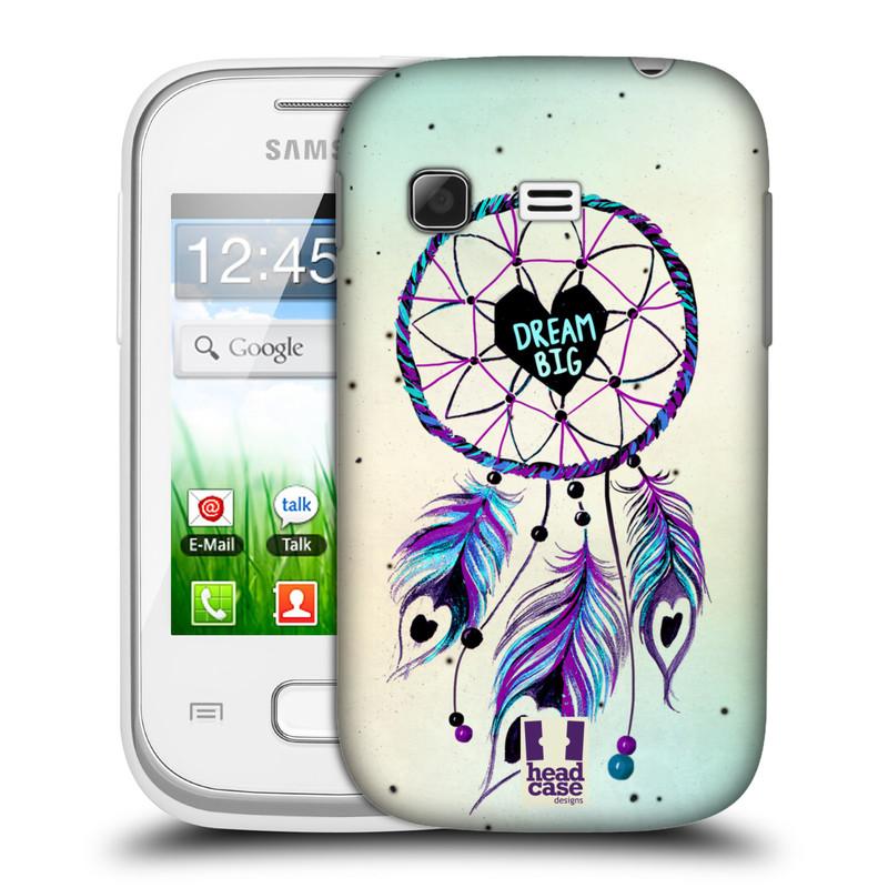 Plastové pouzdro na mobil Samsung Galaxy Pocket HEAD CASE Lapač Assorted Dream Big Srdce (Kryt či obal na mobilní telefon Samsung Galaxy Pocket GT-S5300)