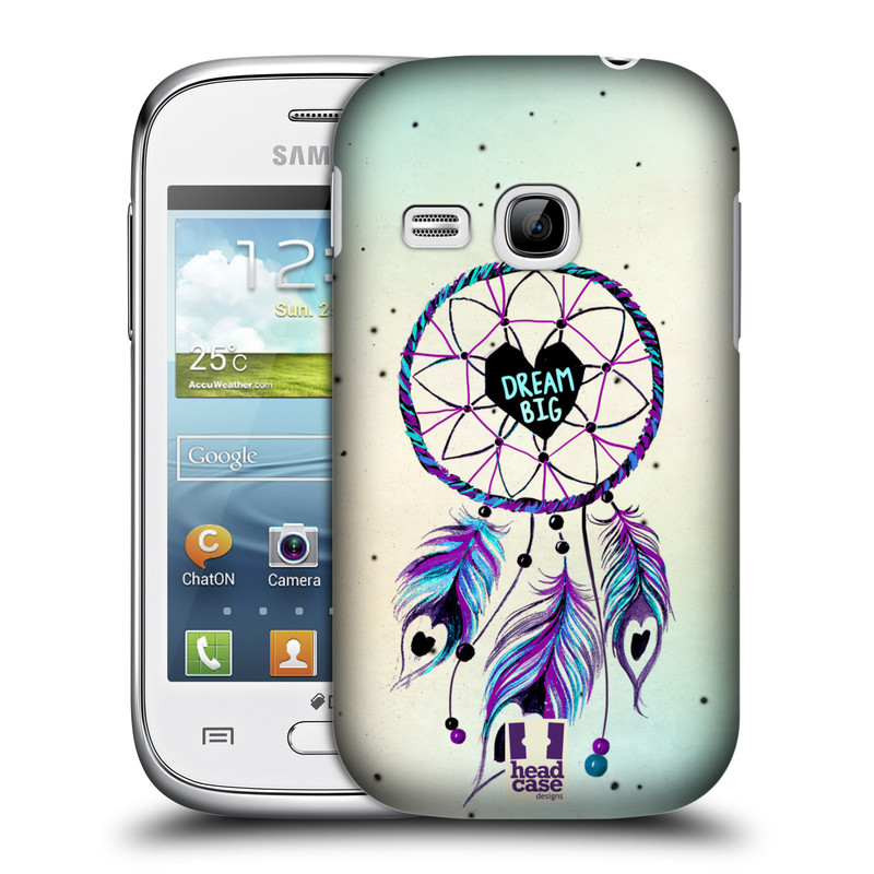 Plastové pouzdro na mobil Samsung Galaxy Young HEAD CASE Lapač Assorted Dream Big Srdce (Kryt či obal na mobilní telefon Samsung Galaxy Young GT-S6310)