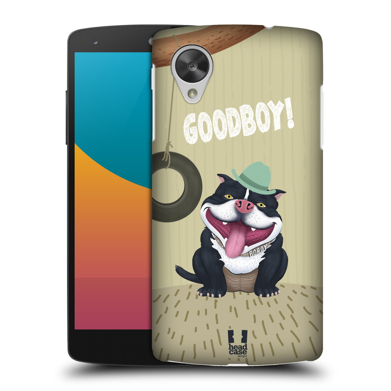 Plastové pouzdro na mobil LG Nexus 5 HEAD CASE Goodboy! Pejsek (Kryt či obal na mobilní telefon LG Google Nexus 5 D821)