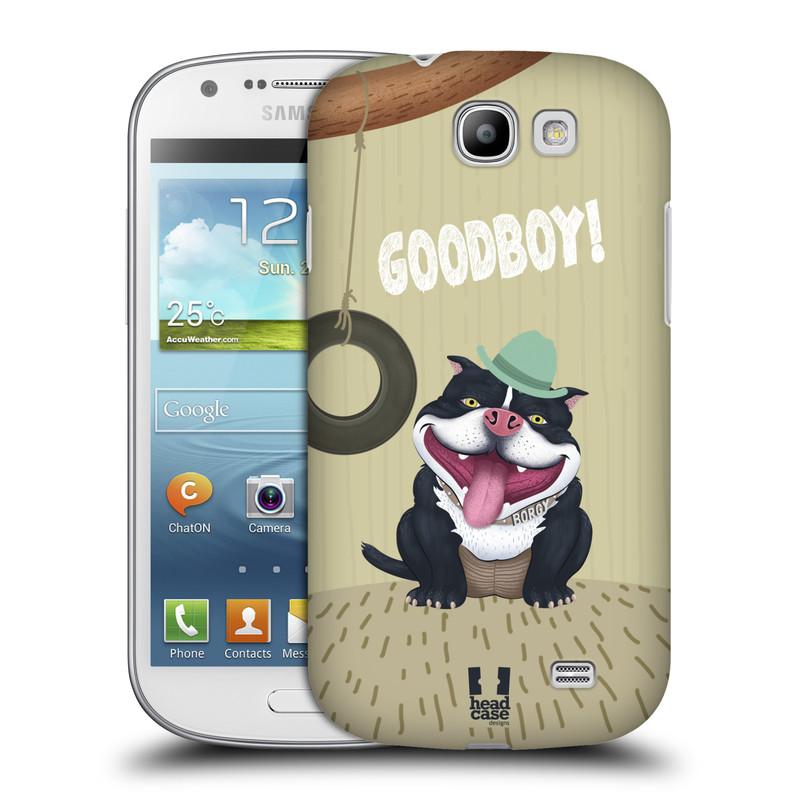 Plastové pouzdro na mobil Samsung Galaxy Express HEAD CASE Goodboy! Pejsek (Kryt či obal na mobilní telefon Samsung Galaxy Express GT-i8730)