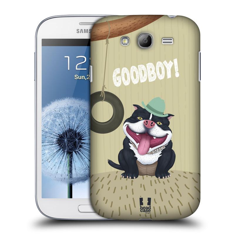 Plastové pouzdro na mobil Samsung Galaxy Grand Neo Plus HEAD CASE Goodboy! Pejsek (Kryt či obal na mobilní telefon Samsung Galaxy Grand Neo Plus GT-i9060i)