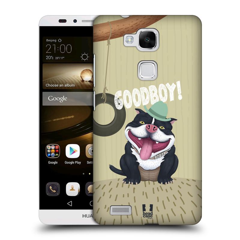Plastové pouzdro na mobil Huawei Ascend Mate 7 HEAD CASE Goodboy! Pejsek (Kryt či obal na mobilní telefon Huawei Ascend Mate7)