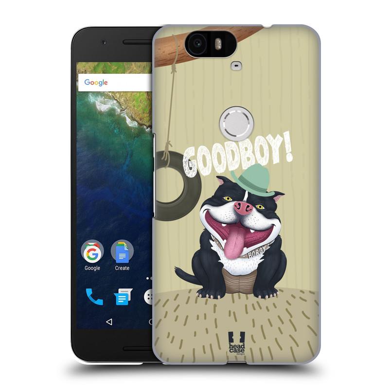 Plastové pouzdro na mobil Huawei Nexus 6P HEAD CASE Goodboy! Pejsek (Kryt či obal na mobilní telefon Huawei Nexus 6P)