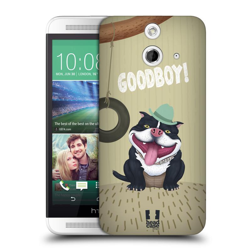 Plastové pouzdro na mobil HTC ONE E8 HEAD CASE Goodboy! Pejsek (Kryt či obal na mobilní telefon HTC ONE E8)