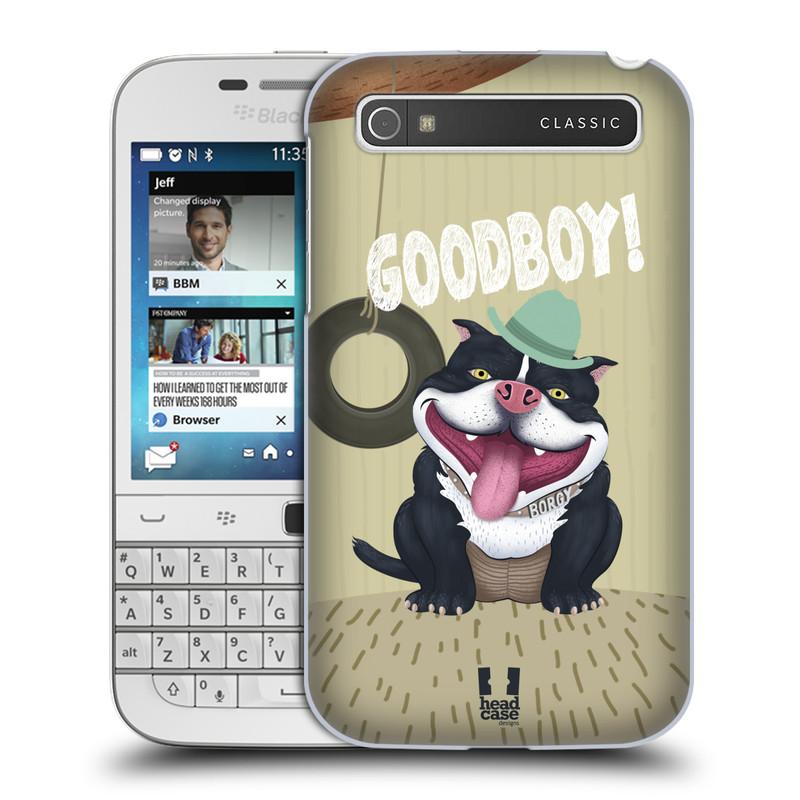 Plastové pouzdro na mobil Blackberry Classic HEAD CASE Goodboy! Pejsek (Kryt či obal na mobilní telefon Blackberry Classic)