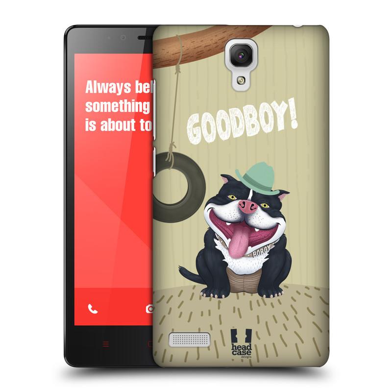 Plastové pouzdro na mobil Xiaomi Redmi Note LTE HEAD CASE Goodboy! Pejsek (Kryt či obal na mobilní telefon Xiaomi Redmi Note LTE (4G) s 5,5'' displejem)