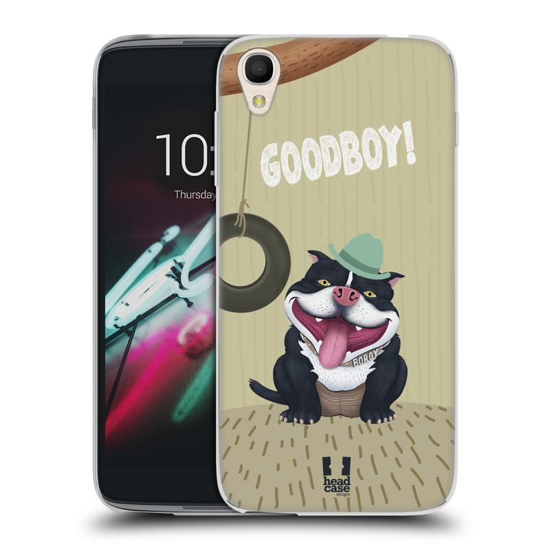 "Silikonové pouzdro na mobil Alcatel One Touch 6039Y Idol 3 HEAD CASE Goodboy! Pejsek (Silikonový kryt či obal na mobilní telefon Alcatel One Touch Idol 3 OT-6039Y s 4,7"" displejem)"