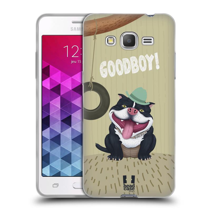 Silikonové pouzdro na mobil Samsung Galaxy Grand Prime VE HEAD CASE Goodboy! Pejsek (Silikonový kryt či obal na mobilní telefon Samsung Galaxy Grand Prime VE SM-G531F)