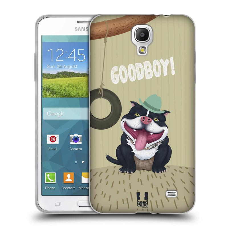 Silikonové pouzdro na mobil Samsung Galaxy Grand Mega 2 HEAD CASE Goodboy! Pejsek (Silikonový kryt či obal na mobilní telefon Samsung Galaxy Grand Mega 2 SM-G750)