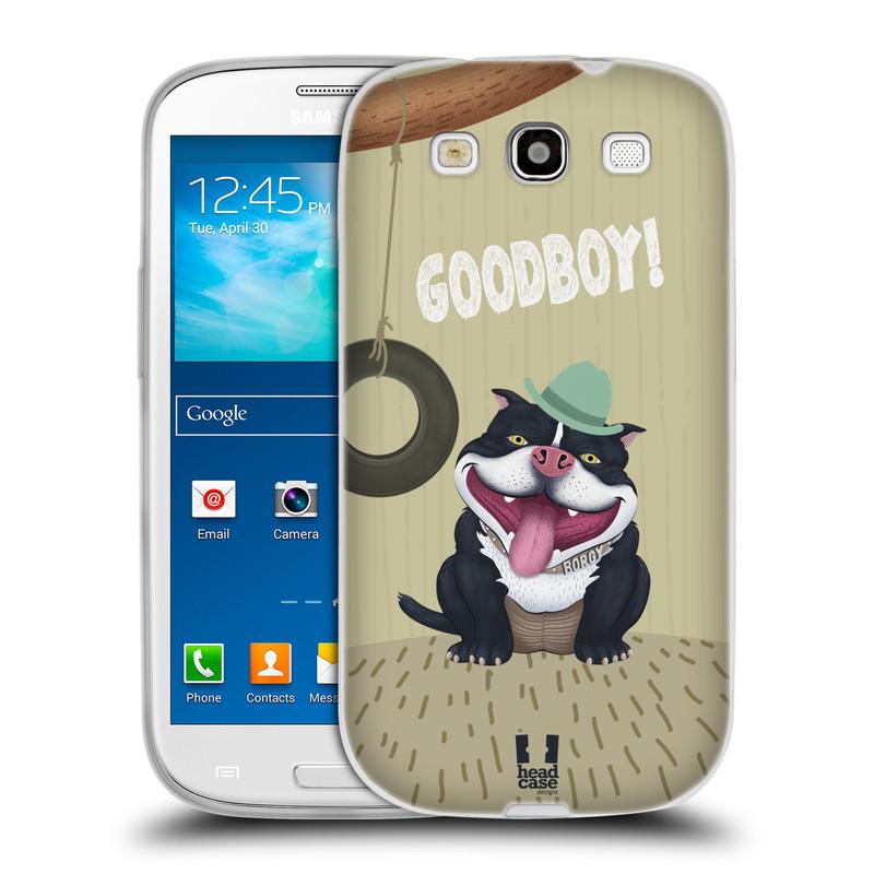 Silikonové pouzdro na mobil Samsung Galaxy S3 Neo HEAD CASE Goodboy! Pejsek (Silikonový kryt či obal na mobilní telefon Samsung Galaxy S3 Neo GT-i9301i)
