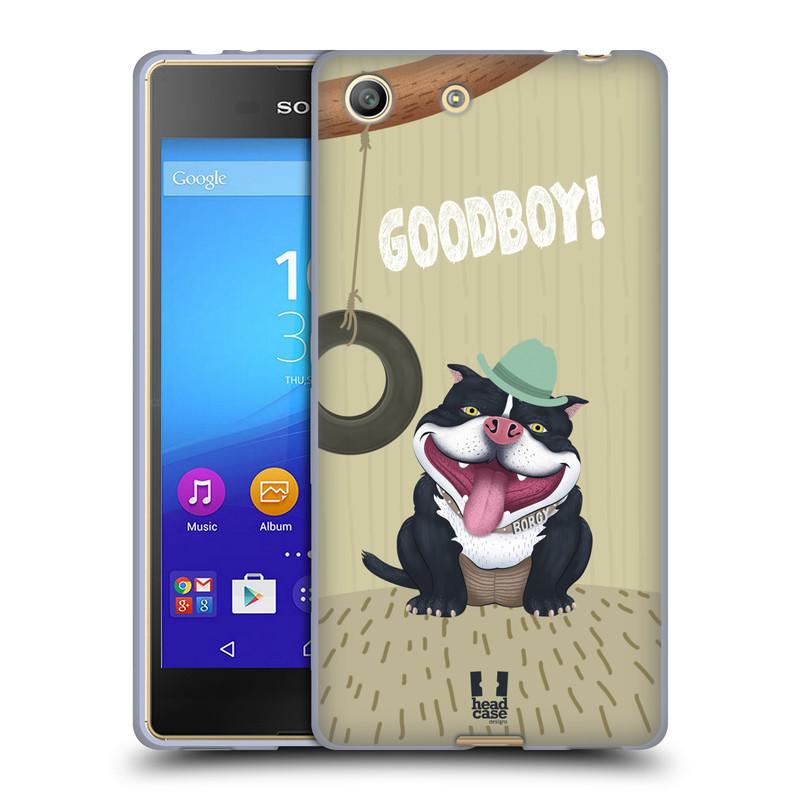 Silikonové pouzdro na mobil Sony Xperia M5 HEAD CASE Goodboy! Pejsek (Silikonový kryt či obal na mobilní telefon Sony Xperia M5 Dual SIM / Aqua)