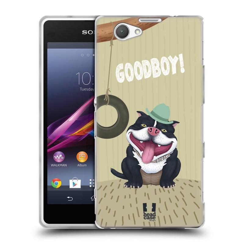 Silikonové pouzdro na mobil Sony Xperia Z1 Compact D5503 HEAD CASE Goodboy! Pejsek (Silikonový kryt či obal na mobilní telefon Sony Xperia Z1 Compact)