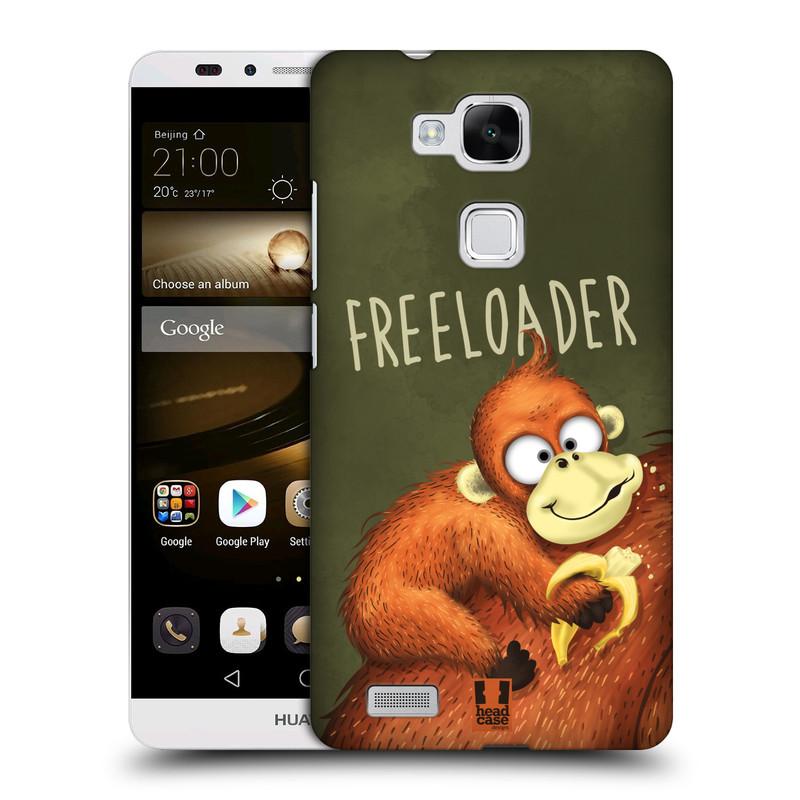 Plastové pouzdro na mobil Huawei Ascend Mate 7 HEAD CASE Opičák Freeloader (Kryt či obal na mobilní telefon Huawei Ascend Mate7)