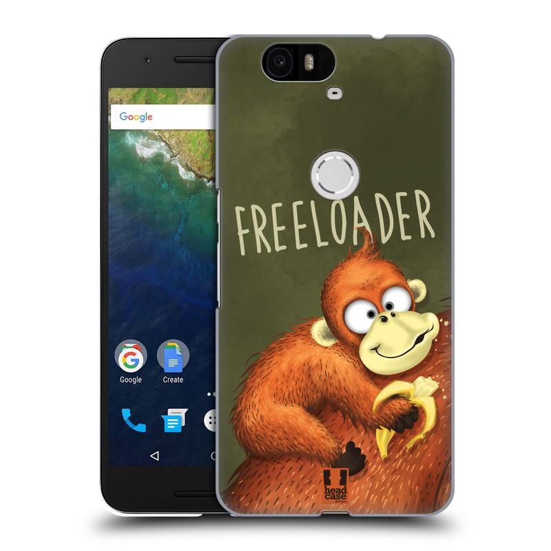 Plastové pouzdro na mobil Huawei Nexus 6P HEAD CASE Opičák Freeloader (Kryt či obal na mobilní telefon Huawei Nexus 6P)