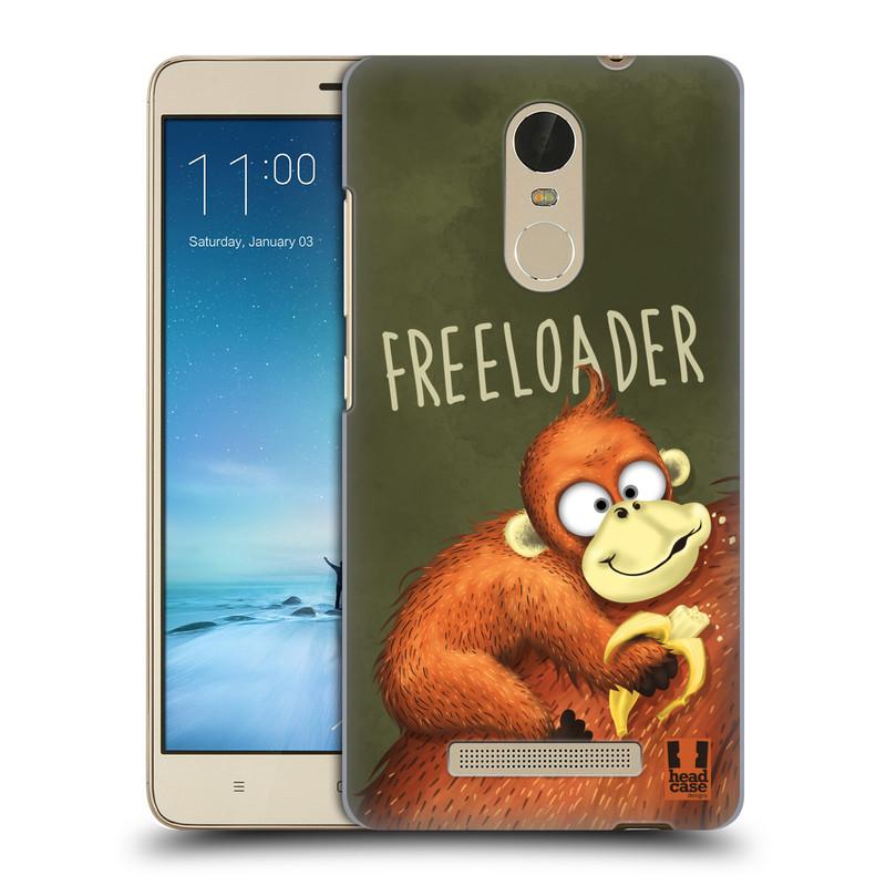 "Plastové pouzdro na mobil Xiaomi Redmi Note 3 HEAD CASE Opičák Freeloader (Kryt či obal na mobilní telefon Xiaomi Redmi Note 3 s 5,5"" displejem)"