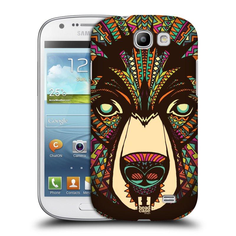 Plastové pouzdro na mobil Samsung Galaxy Express HEAD CASE AZTEC MEDVĚD (Kryt či obal na mobilní telefon Samsung Galaxy Express GT-i8730)