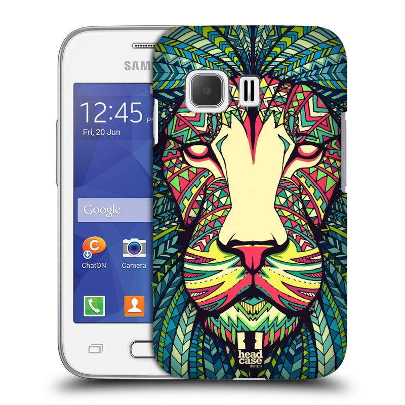 Plastové pouzdro na mobil Samsung Galaxy Young 2 HEAD CASE AZTEC LEV (Kryt či obal na mobilní telefon Samsung Galaxy Young 2 SM-G130)