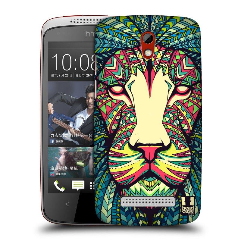 Plastové pouzdro na mobil HTC Desire 500 HEAD CASE AZTEC LEV (Kryt či obal na mobilní telefon HTC Desire 500)
