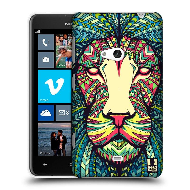 Plastové pouzdro na mobil Nokia Lumia 625 HEAD CASE AZTEC LEV (Kryt či obal na mobilní telefon Nokia Lumia 625)