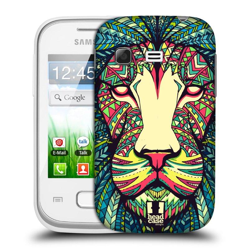 Plastové pouzdro na mobil Samsung Galaxy Pocket HEAD CASE AZTEC LEV (Kryt či obal na mobilní telefon Samsung Galaxy Pocket GT-S5300)
