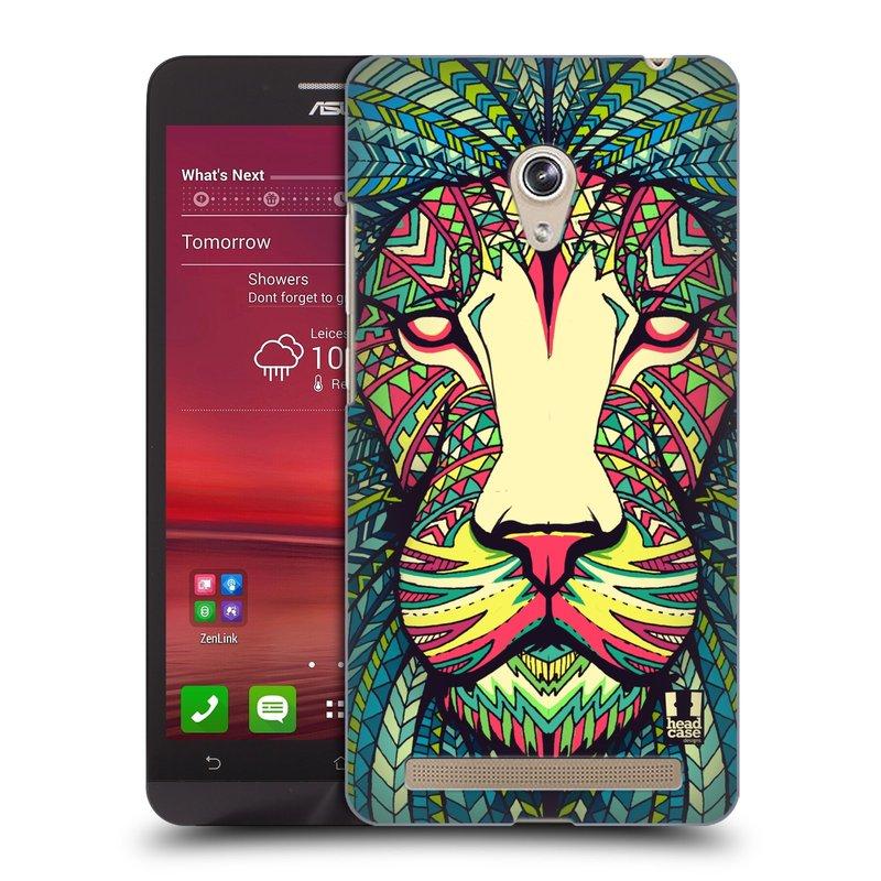 Plastové pouzdro na mobil Asus Zenfone 6 HEAD CASE AZTEC LEV (Kryt či obal na mobilní telefon Asus Zenfone 6 A600CG / A601CG)