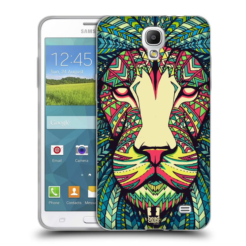 Silikonové pouzdro na mobil Samsung Galaxy Grand Mega 2 HEAD CASE AZTEC LEV (Silikonový kryt či obal na mobilní telefon Samsung Galaxy Grand Mega 2 SM-G750)
