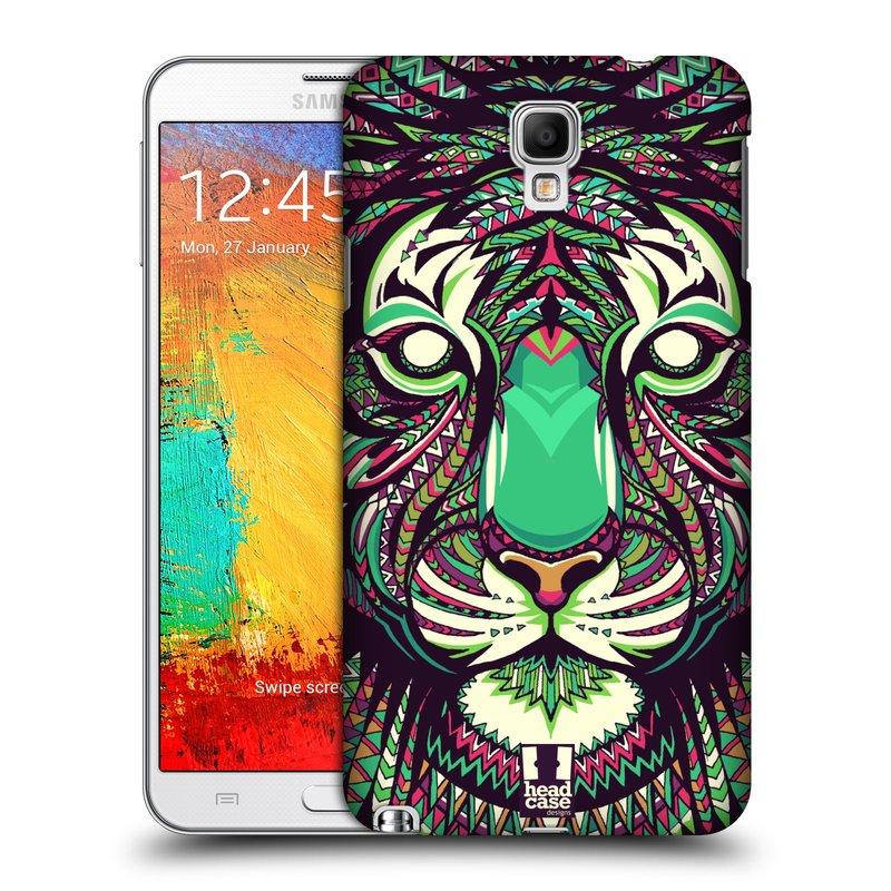 Plastové pouzdro na mobil Samsung Galaxy Note 3 Neo HEAD CASE AZTEC TYGR (Kryt či obal na mobilní telefon Samsung Galaxy Note 3 Neo SM-N7505)