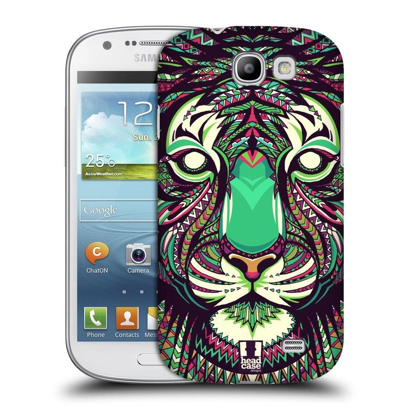 Plastové pouzdro na mobil Samsung Galaxy Express HEAD CASE AZTEC TYGR (Kryt či obal na mobilní telefon Samsung Galaxy Express GT-i8730)