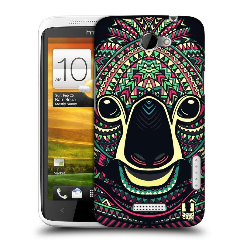 Plastové pouzdro na mobil HTC ONE X HEAD CASE AZTEC KOALA (Kryt či obal na mobilní telefon HTC ONE X)