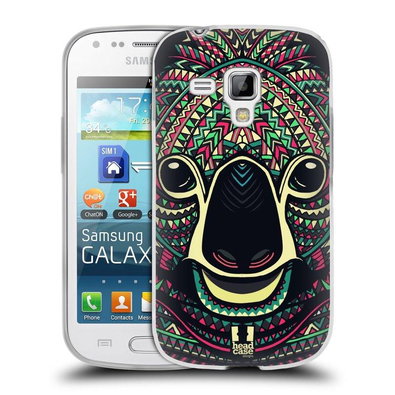 Silikonové pouzdro na mobil Samsung Galaxy S Duos 2 HEAD CASE AZTEC KOALA (Silikonový kryt či obal na mobilní telefon Samsung Galaxy S Duos 2 GT-S7582)