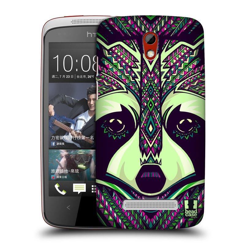 Plastové pouzdro na mobil HTC Desire 500 HEAD CASE AZTEC MÝVAL (Kryt či obal na mobilní telefon HTC Desire 500)
