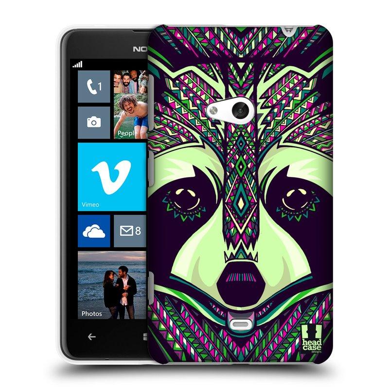 Plastové pouzdro na mobil Nokia Lumia 625 HEAD CASE AZTEC MÝVAL (Kryt či obal na mobilní telefon Nokia Lumia 625)