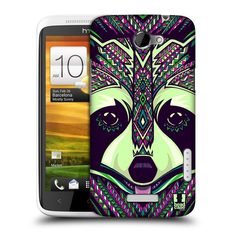 Plastové pouzdro na mobil HTC ONE X HEAD CASE AZTEC MÝVAL (Kryt či obal na mobilní telefon HTC ONE X)