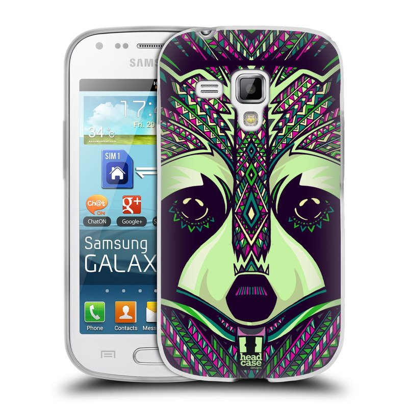 Silikonové pouzdro na mobil Samsung Galaxy S Duos 2 HEAD CASE AZTEC MÝVAL (Silikonový kryt či obal na mobilní telefon Samsung Galaxy S Duos 2 GT-S7582)