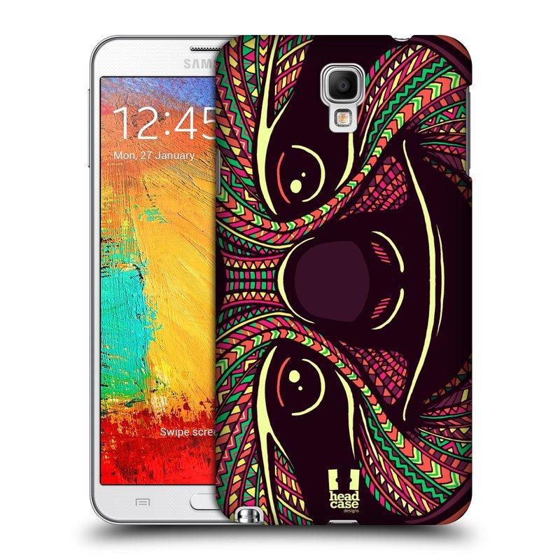 Plastové pouzdro na mobil Samsung Galaxy Note 3 Neo HEAD CASE AZTEC LENOCHOD (Kryt či obal na mobilní telefon Samsung Galaxy Note 3 Neo SM-N7505)