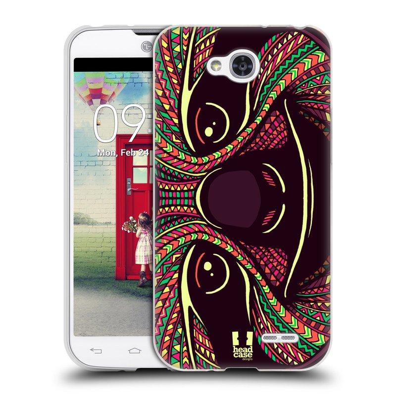 Silikonové pouzdro na mobil LG L90 HEAD CASE AZTEC LENOCHOD (Silikonový kryt či obal na mobilní telefon LG L90 D405n)