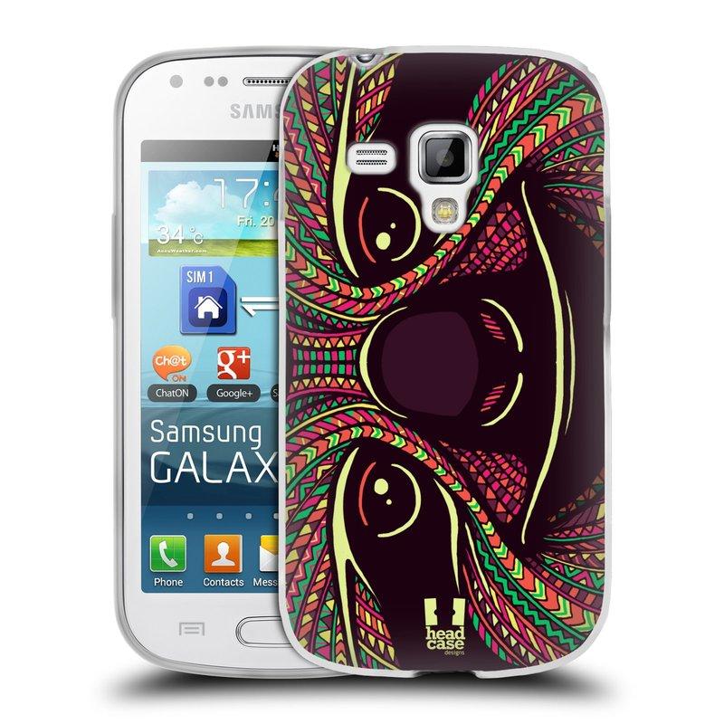 Silikonové pouzdro na mobil Samsung Galaxy S Duos 2 HEAD CASE AZTEC LENOCHOD (Silikonový kryt či obal na mobilní telefon Samsung Galaxy S Duos 2 GT-S7582)