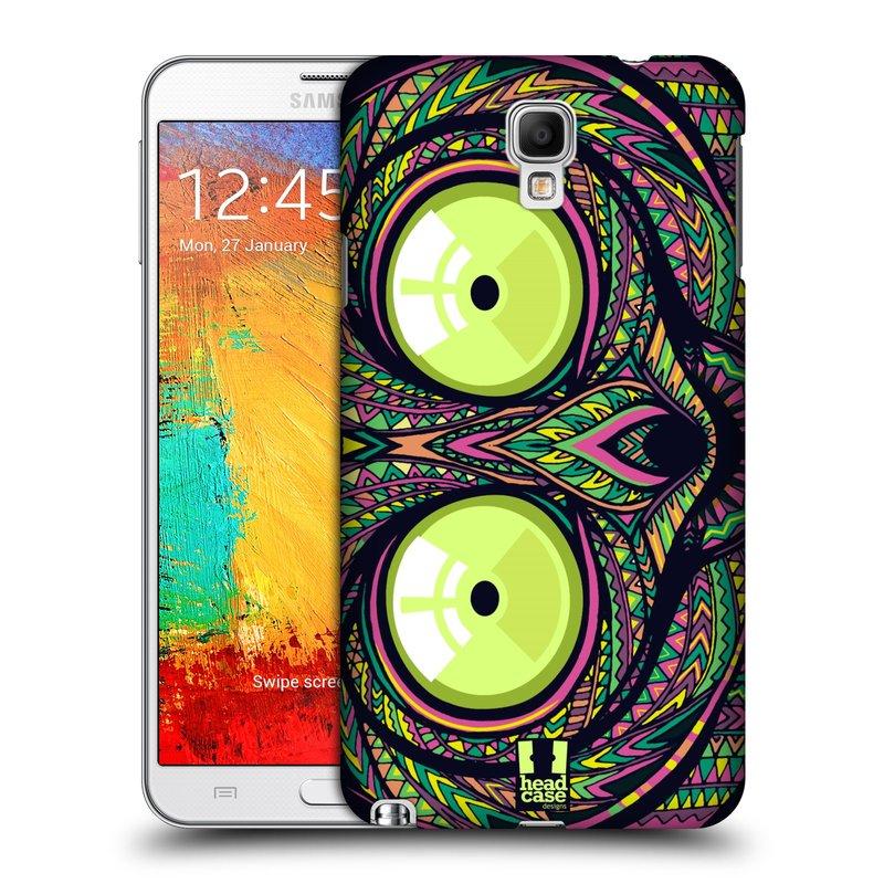 Plastové pouzdro na mobil Samsung Galaxy Note 3 Neo HEAD CASE AZTEC NÁRTOUN (Kryt či obal na mobilní telefon Samsung Galaxy Note 3 Neo SM-N7505)