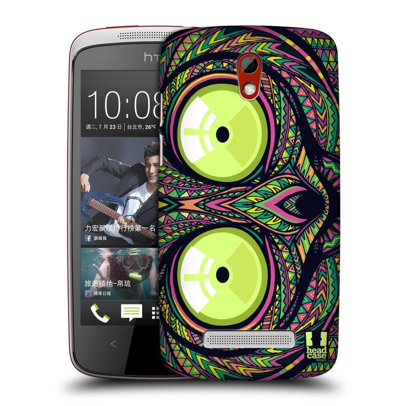 Plastové pouzdro na mobil HTC Desire 500 HEAD CASE AZTEC NÁRTOUN (Kryt či obal na mobilní telefon HTC Desire 500)