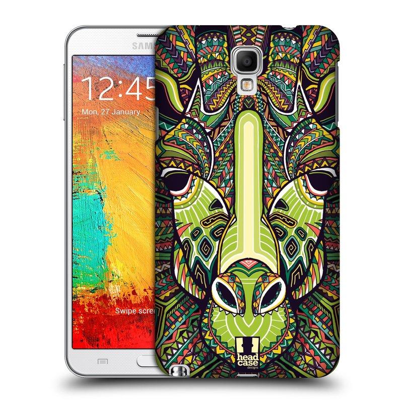 Plastové pouzdro na mobil Samsung Galaxy Note 3 Neo HEAD CASE AZTEC ŽIRAFA (Kryt či obal na mobilní telefon Samsung Galaxy Note 3 Neo SM-N7505)