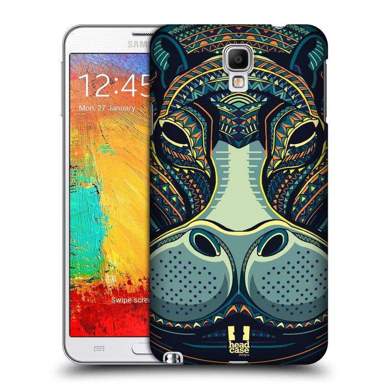 Plastové pouzdro na mobil Samsung Galaxy Note 3 Neo HEAD CASE AZTEC HROCH (Kryt či obal na mobilní telefon Samsung Galaxy Note 3 Neo SM-N7505)