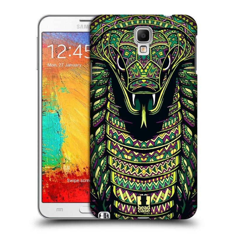 Plastové pouzdro na mobil Samsung Galaxy Note 3 Neo HEAD CASE AZTEC HAD (Kryt či obal na mobilní telefon Samsung Galaxy Note 3 Neo SM-N7505)
