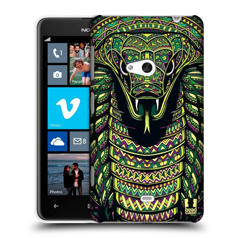 Plastové pouzdro na mobil Nokia Lumia 625 HEAD CASE AZTEC HAD (Kryt či obal na mobilní telefon Nokia Lumia 625)