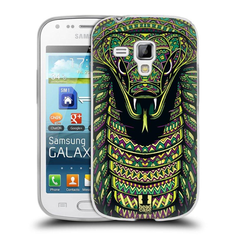 Silikonové pouzdro na mobil Samsung Galaxy S Duos 2 HEAD CASE AZTEC HAD (Silikonový kryt či obal na mobilní telefon Samsung Galaxy S Duos 2 GT-S7582)