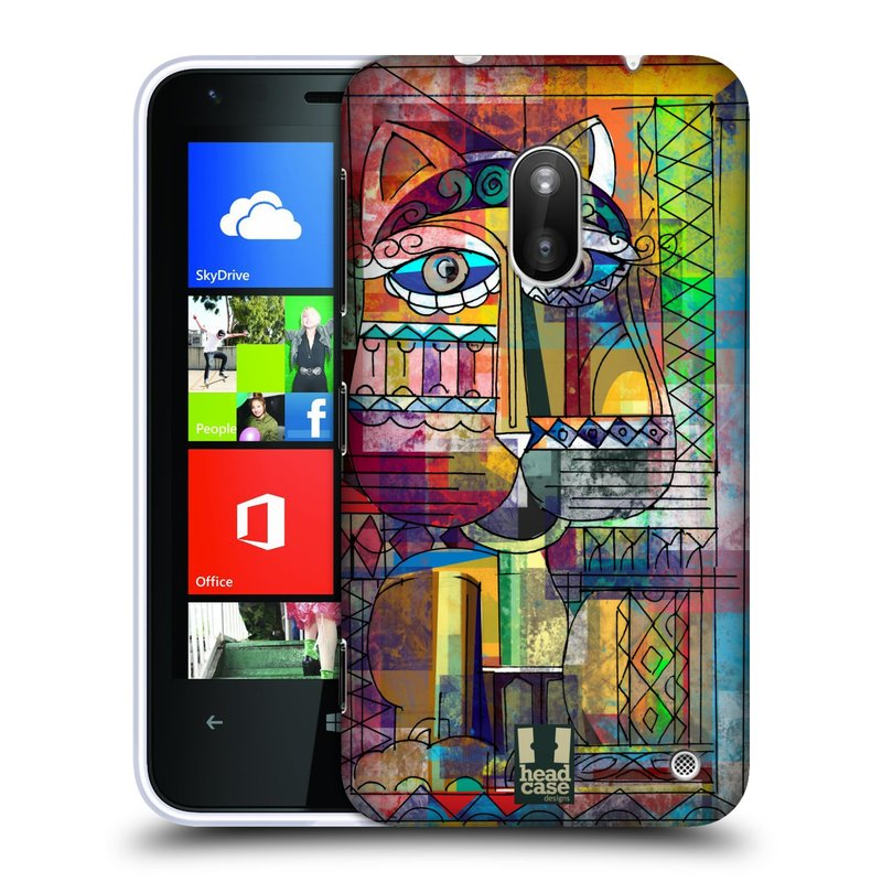 Plastové pouzdro na mobil Nokia Lumia 620 HEAD CASE AZTEC KORAT (Kryt či obal na mobilní telefon Nokia Lumia 620)