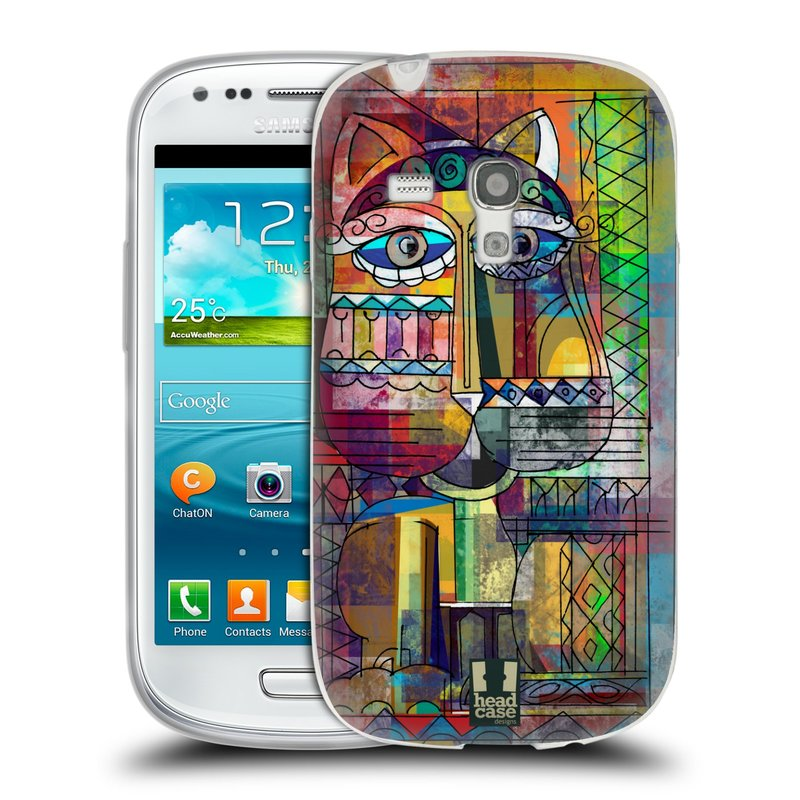 Silikonové pouzdro na mobil Samsung Galaxy S3 Mini VE HEAD CASE AZTEC KORAT (Silikonový kryt či obal na mobilní telefon Samsung Galaxy S3 Mini VE GT-i8200)