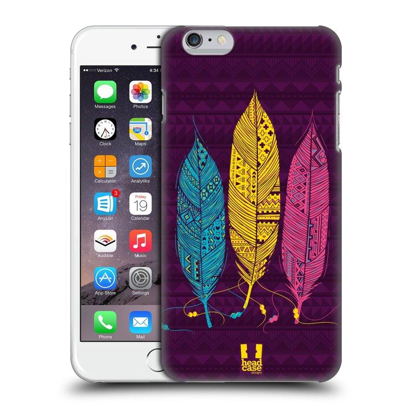 Plastové pouzdro na mobil Apple iPhone 6 Plus a 6S Plus HEAD CASE AZTEC PÍRKA 3 BAREV (Kryt či obal na mobilní telefon Apple iPhone 6 Plus a 6S Plus)