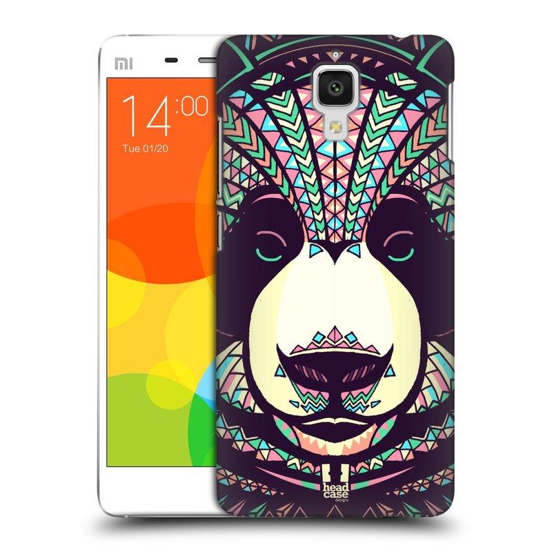 Plastové pouzdro na mobil Doogee Hitman DG850 HEAD CASE AZTEC PANDA (Kryt či obal na mobilní telefon Doogee Hitman DG850)