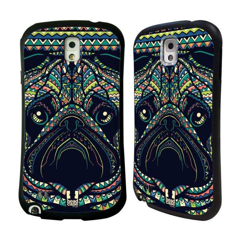 Nárazuvzdorné pouzdro na mobil Samsung Galaxy Note 3 HEAD CASE AZTEC MOPS (Odolný nárazuvzdorný silikonový kryt či obal na mobilní telefon Samsung Galaxy Note 3 SM-N9005)