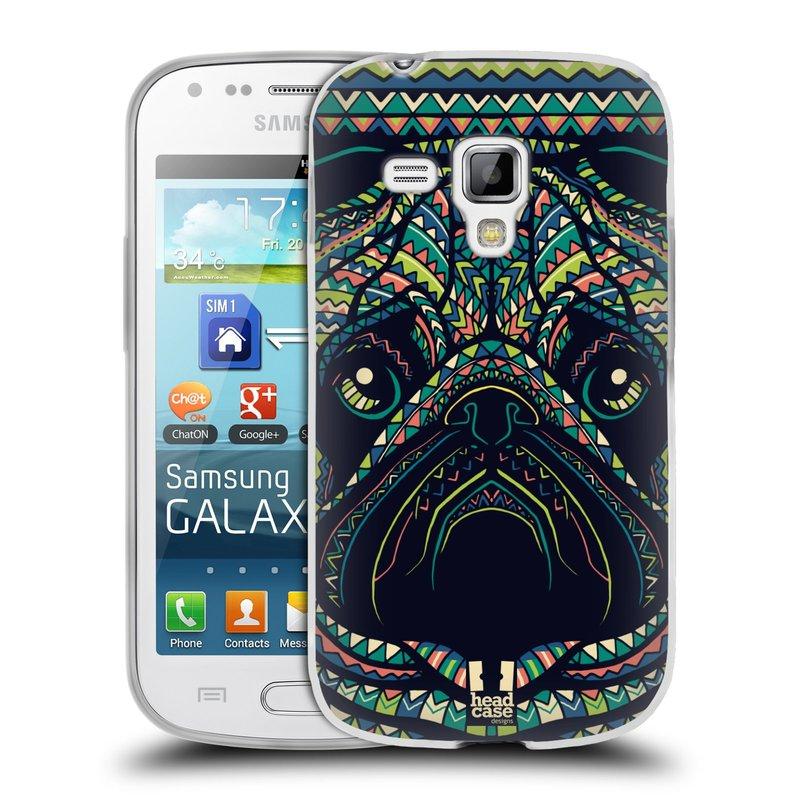 Silikonové pouzdro na mobil Samsung Galaxy S Duos 2 HEAD CASE AZTEC MOPS (Silikonový kryt či obal na mobilní telefon Samsung Galaxy S Duos 2 GT-S7582)